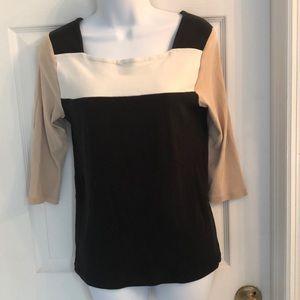 Ann Taylor 3/4 sleeve shirt